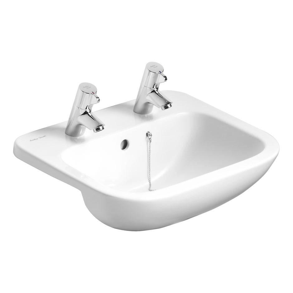 Armitage Shanks Profile 21 50cm 2TH Semi-Countertop Washbasin