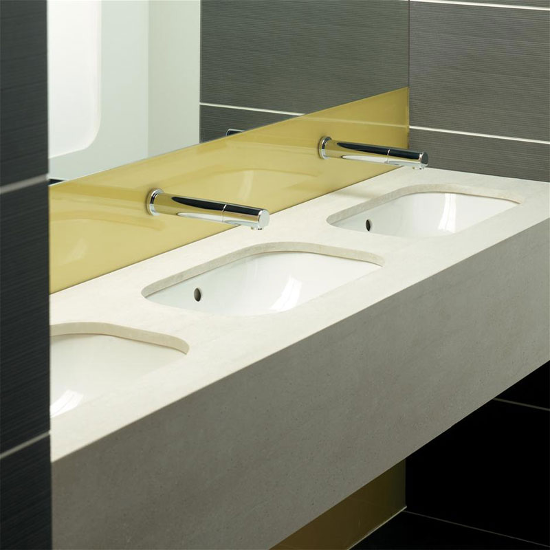 Armitage Shanks - Contour21 50cm Under Countertop Vanity Basin - Glazed Back - S251601 profile large image view 2