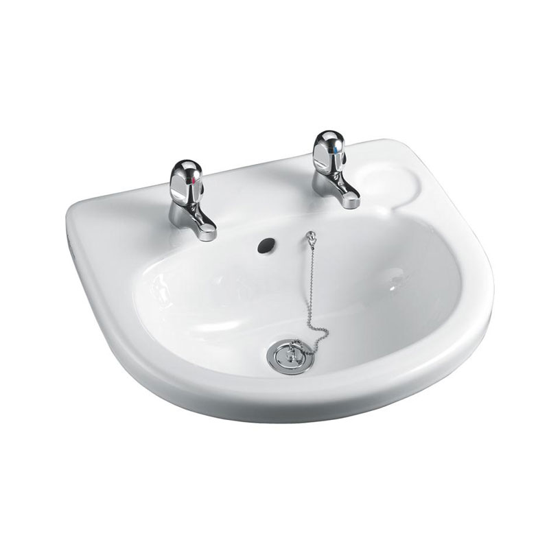 Armitage Shanks - Sandringham 50cm Countertop Washbasin - 2TH - S250801 profile large image view 1