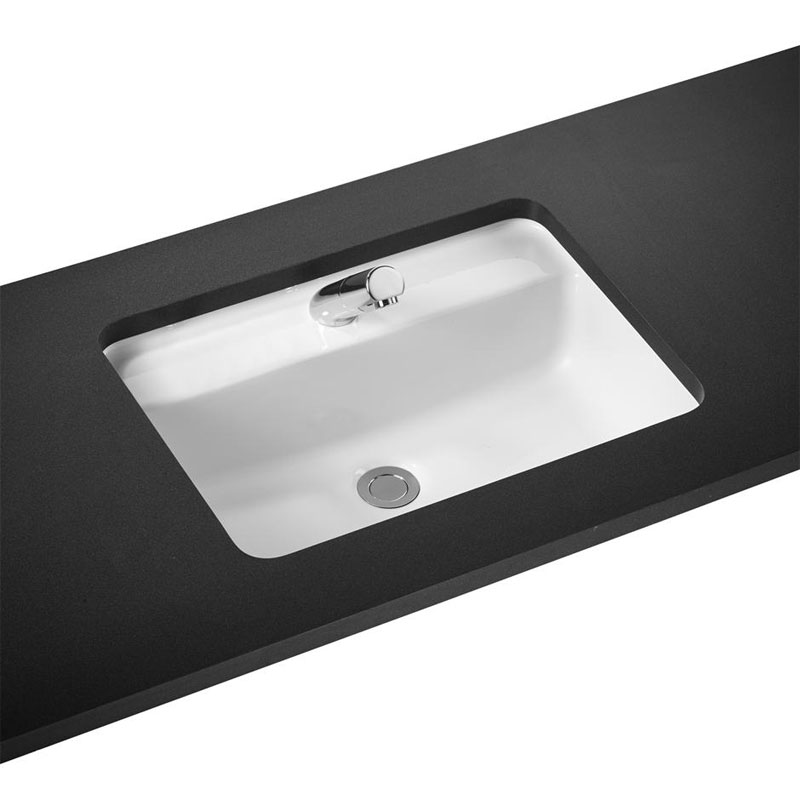 Armitage Shanks - Contour21 Rectangular 55cm Under Countertop Basin with Tap Deck - 1TH - S269501 profile large image view 1