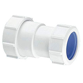 """McAlpine 1¼"""" x 32mm Multifit Straight Connector - Multifit x European Pipe Size"""