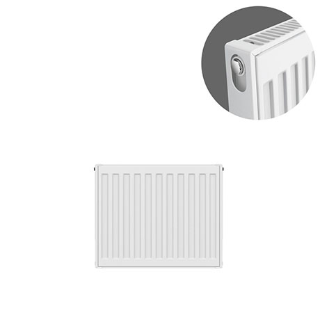 Type 11 H300 x W400mm Compact Single Convector Radiator - S304K