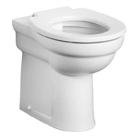 Armitage Shanks Contour 21 Rimless BTW Raised Height WC Pan (excluding Seat) - S305701