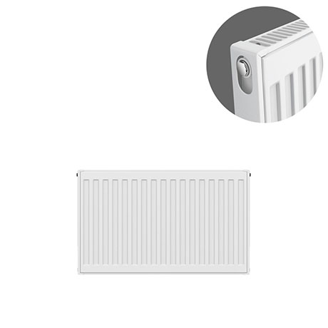 Type 11 H300 x W600mm Compact Single Convector Radiator - S306K