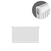 Type 11 H300 x W600mm Compact Single Convector Radiator - S306K profile small image view 1