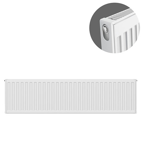 Type 11 H300 x W1000mm Compact Single Convector Radiator - S310K
