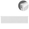 Type 11 H300 x W1000mm Compact Single Convector Radiator - S310K profile small image view 1