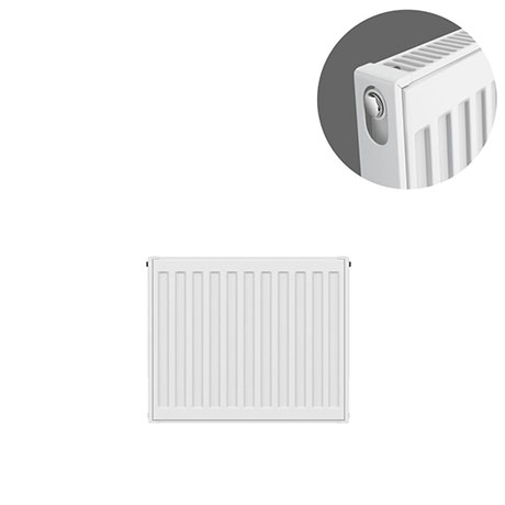 Type 11 H400 x W400mm Compact Single Convector Radiator - S404K