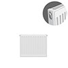 Type 11 H400 x W400mm Compact Single Convector Radiator - S404K profile small image view 1
