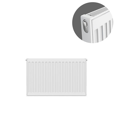 Type 11 H400 x W600mm Compact Single Convector Radiator - S406K