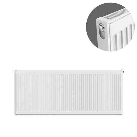 Type 11 H400 x W900mm Compact Single Convector Radiator - S409K