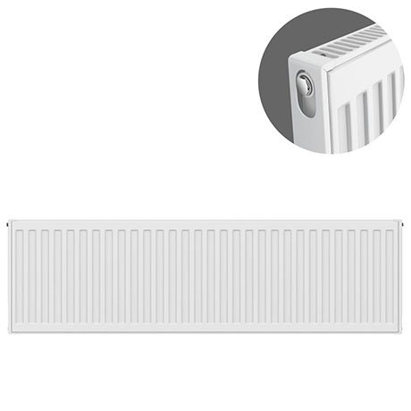 Type 11 H400 x W1100mm Compact Single Convector Radiator - S411K