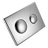 Armitage Shanks Chrome Push Button Dual Flush Plate for Conceala 2 Cisterns - S4397AA profile small image view 1