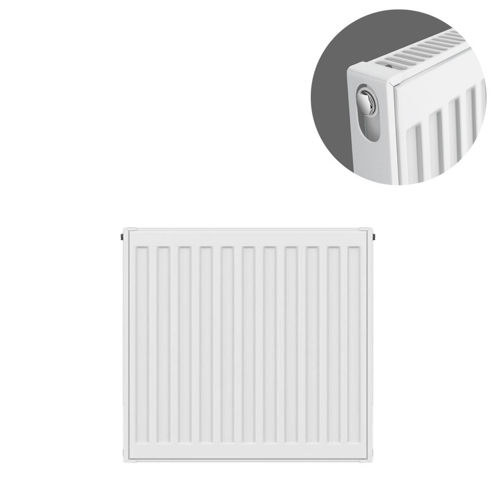 Type 11 H500 x W400mm Compact Single Convector Radiator - S504K
