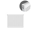 Type 11 H500 x W500mm Compact Single Convector Radiator - S505K profile small image view 1
