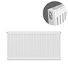 Type 11 H500 x W700mm Compact Single Convector Radiator - S507K profile small image view 1