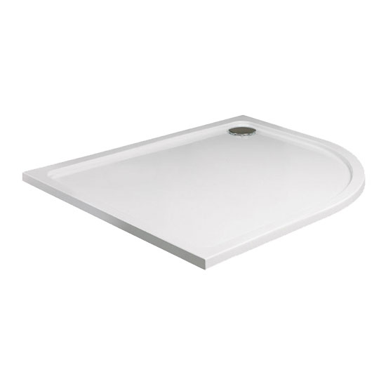 JT40 Fusion Quadrant Shower Tray with Waste - Various Size Options
