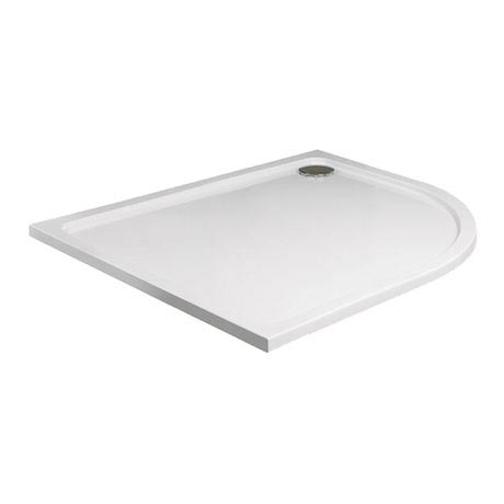 JT40 Fusion Quadrant Anti-Slip Shower Tray with Waste - Various Size Options