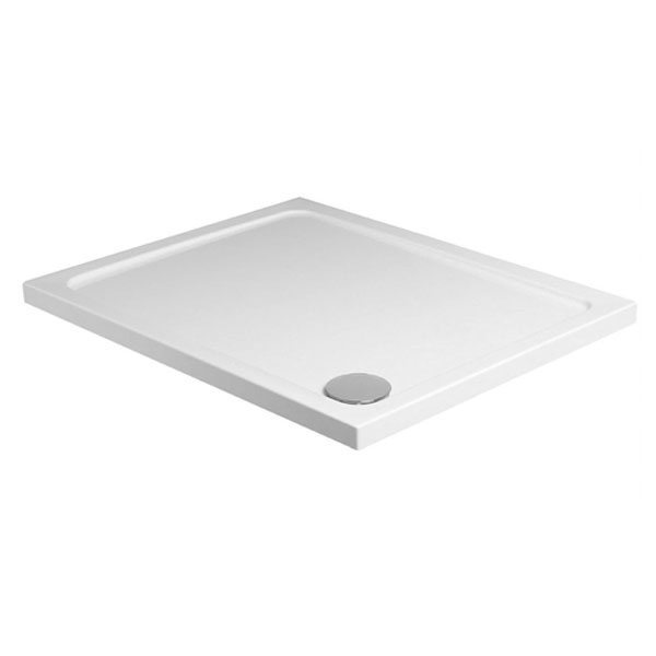 JT40 Fusion Rectangular Anti-Slip Shower Tray with Waste - Various Size Options profile large image view 1