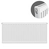 Type 11 H500 x W900mm Compact Single Convector Radiator - S509K profile small image view 1