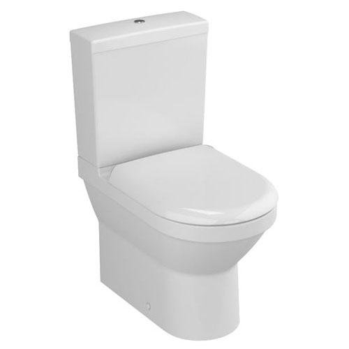 Vitra - S50 Compact Close Coupled Toilet (Fully Back to Wall) Large Image