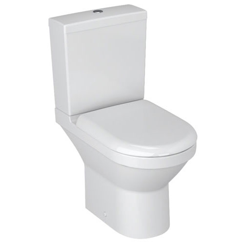 Vitra - S50 Compact Close Coupled Toilet (Open Back) Large Image