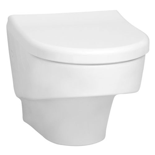 Vitra - S50 Compact Wall Hung Toilet Pan with Seat Large Image