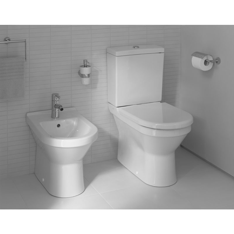 Vitra - S50 Close Coupled Toilet (fully back to wall) Profile Large Image