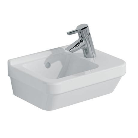 Vitra - S50 Compact Cloakroom Basin 40cm - 1 Tap Hole