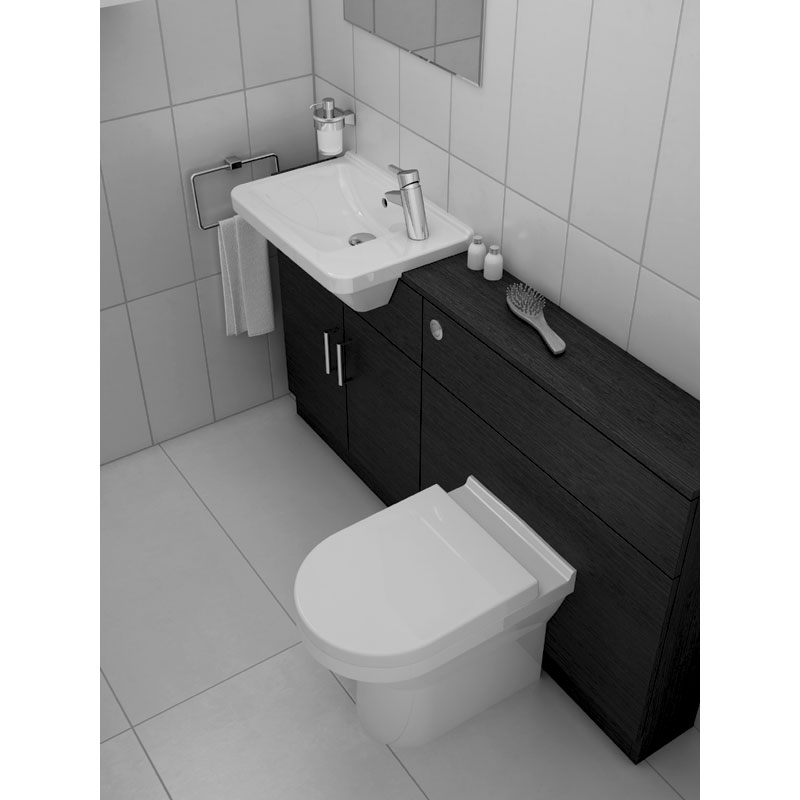 vitra s50 model rimless back to wall toilet pan with 2. Black Bedroom Furniture Sets. Home Design Ideas