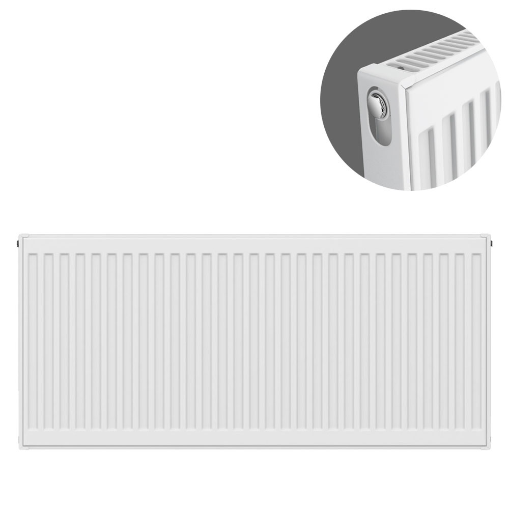 Type 11 H500 x W1000mm Compact Single Convector Radiator - S510K