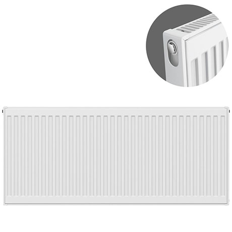 Type 11 H500 x W1100mm Compact Single Convector Radiator - S511K
