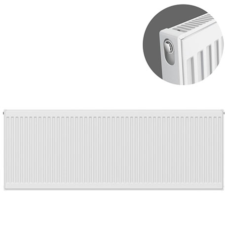 Type 11 H500 x W1600mm Compact Single Convector Radiator - S516K