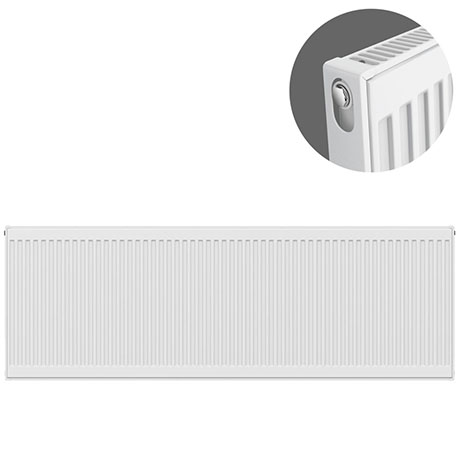Type 11 H500 x W2000mm Compact Single Convector Radiator - S520K