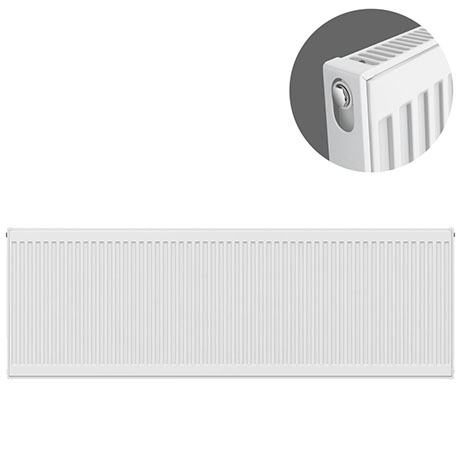 Type 11 H500 x W2200mm Compact Single Convector Radiator - S522K