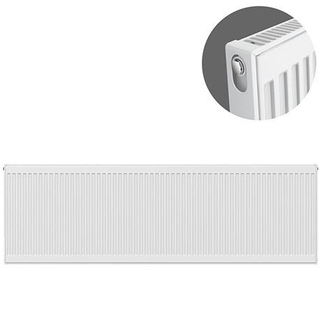 Type 11 H500 x W2400mm Compact Single Convector Radiator - S524K