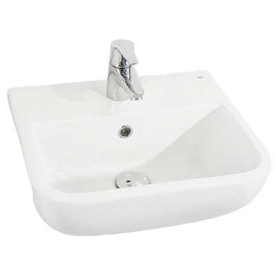 RAK Series 600 42cm Semi Recessed Basin profile large image view 2