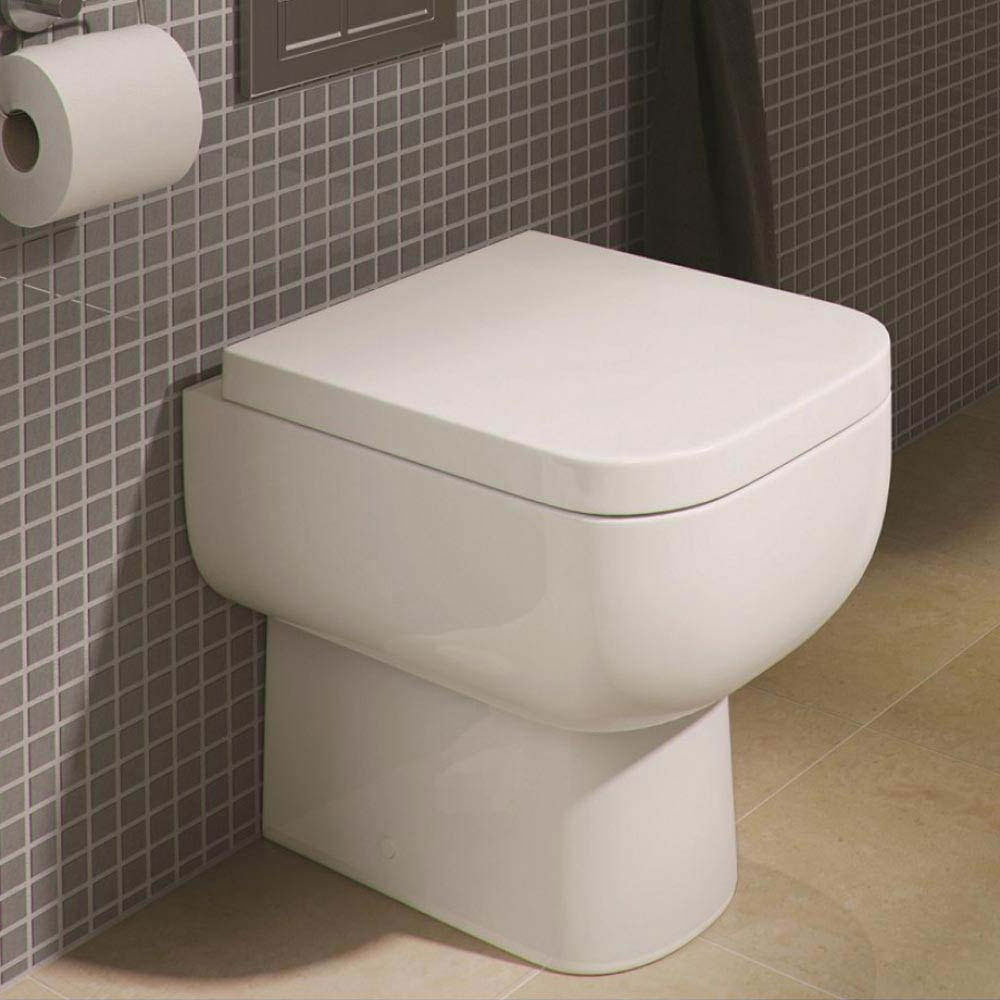Rak Series 600 Back to Wall BTW Toilet with Soft Close Seat  | Small Toilet Ideas