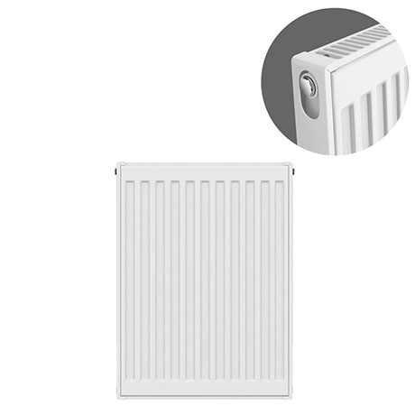 Type 11 H600 x W400mm Compact Single Convector Radiator - S604K
