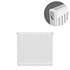 Type 11 H600 x W400mm Compact Single Convector Radiator - S604K profile small image view 1