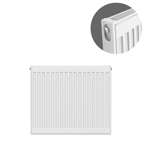 Type 11 H600 x W600mm Compact Single Convector Radiator - S606K