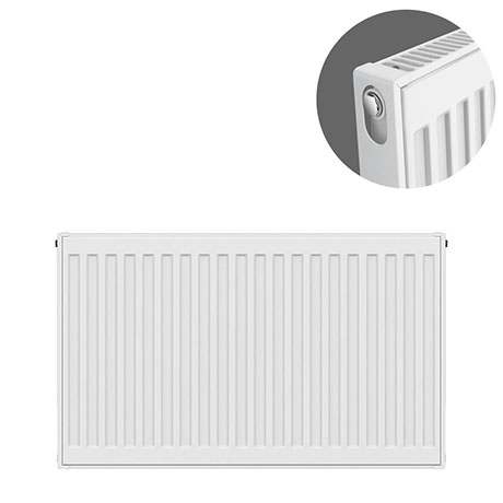 Type 11 H600 x W700mm Compact Single Convector Radiator - S607K
