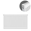 Type 11 H600 x W700mm Compact Single Convector Radiator - S607K profile small image view 1