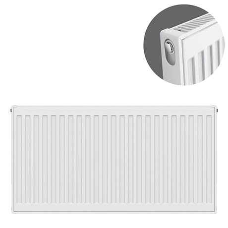 Type 11 H600 x W800mm Compact Single Convector Radiator - S608K