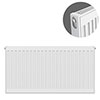 Type 11 H600 x W800mm Compact Single Convector Radiator - S608K profile small image view 1