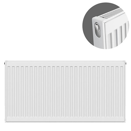 Type 11 H600 x W900mm Compact Single Convector Radiator - S609K