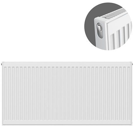 Type 11 H600 x W1100mm Compact Single Convector Radiator - S611K