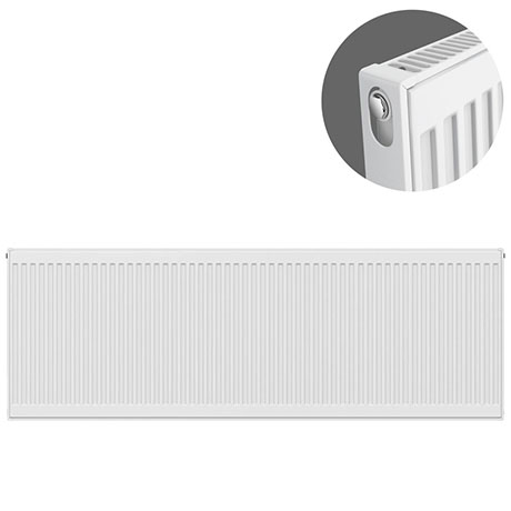 Type 11 H600 x W2200mm Compact Single Convector Radiator - S622K
