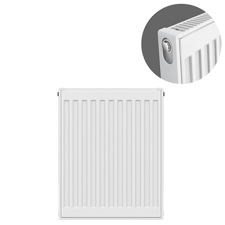 Type 11 H750 x W400mm Compact Single Convector Radiator - S704K