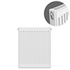 Type 11 H750 x W400mm Compact Single Convector Radiator - S704K profile small image view 1